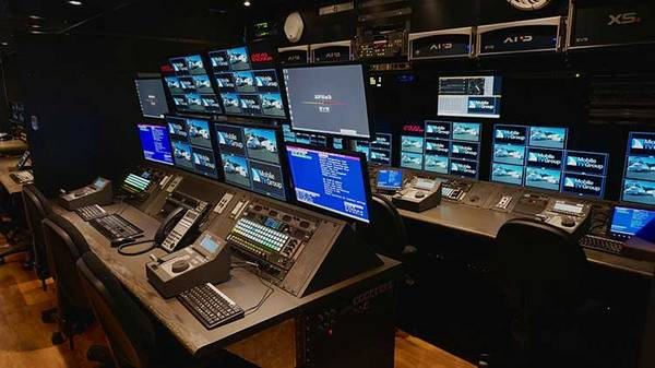 yellobrik CWDM Fiber solutions installed in Colorado Studios / Mobile TV Group Replay Room in 37HDX truck